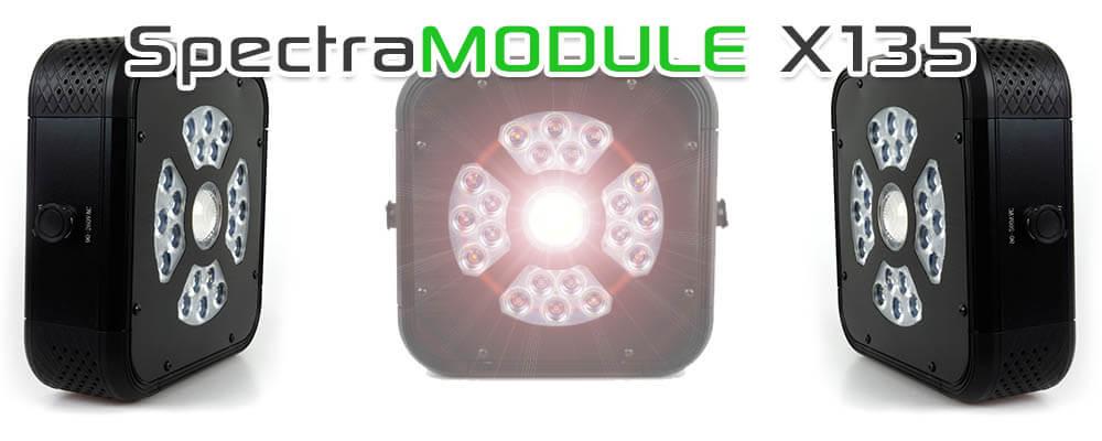 Lampe led horticole 135w compatible console sans fil for Led culture interieur