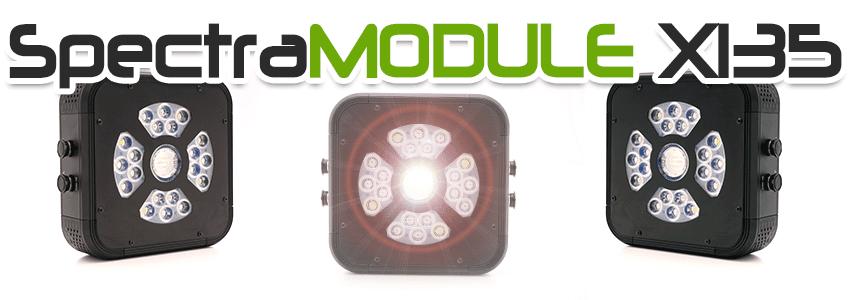 Eclairage horticole LED haute puissance SpectraMODULE X135