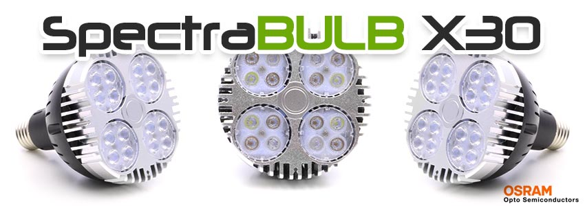 Ampoule horticole LED E27 SpectraBULB X30