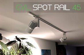 Eclairage led pour plantes sur rail - mur végétal