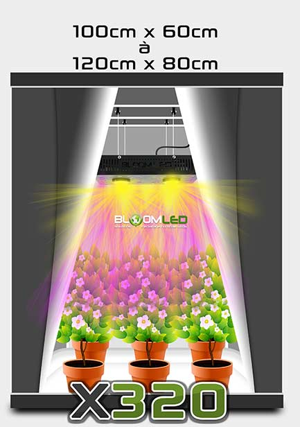 bloomled lampe horticole led pour la culture en int rieur de plantes panneau led horticole. Black Bedroom Furniture Sets. Home Design Ideas